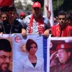 Las imágenes muestran un desfile de las Brigadas de Abu Ali Mustafa.