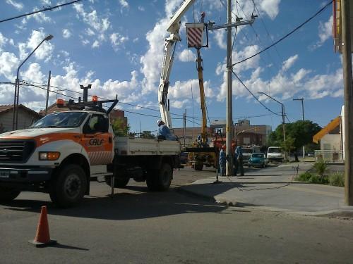 Un corte de energía afectó a un sector de la ciudad