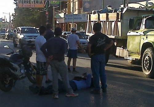 Policía herido en un accidente de tránsito
