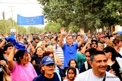 Omar Gutiérrez, precandidato a gobernador por la Lista Azul.