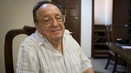 Roberto Gómez Bolaños, tenía 85 años.