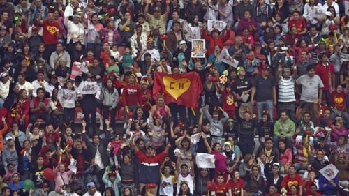 El estadio Azteca repleto de fans despiden al Chavo