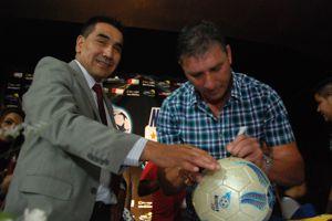 Rioseco y Abbondanzieri presentaron la Neuquén Cup 2015