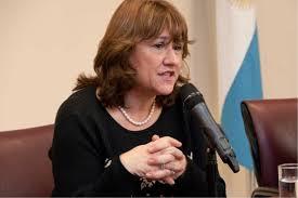 Ana Pechen, vicegobernadora de la provincia.