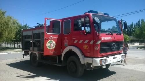 Nueva autobomba para el Cuartel de bomberos de Senillosa