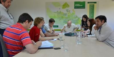 Reunión de la comisión de Legislación General. Foto: Prensa Institucional.
