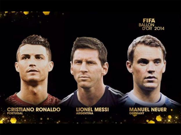 Candidatos al Balón de Oro
