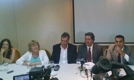 Bertoldi recibió el apoyo del gobierno nacional para el 2015