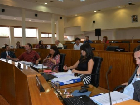 Ediles aprobaron el Presupuesto y la Tarifaria 2015