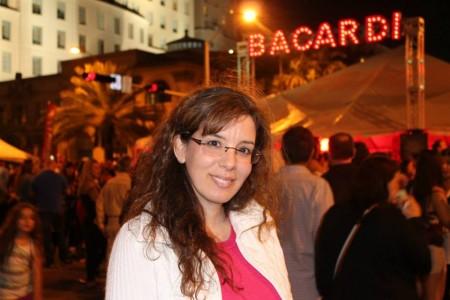 Laura Rivera, la periodista neuquina que entrevistó a Jorge Lanata en Miami
