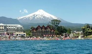 Monitorean el volcán Villarrica por actividad sísmica