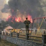La situación en Lago Puelo es desesperante.