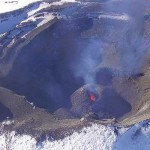 El volcán Villarrica en alerta naranja y el Copahue en alerta amarilla