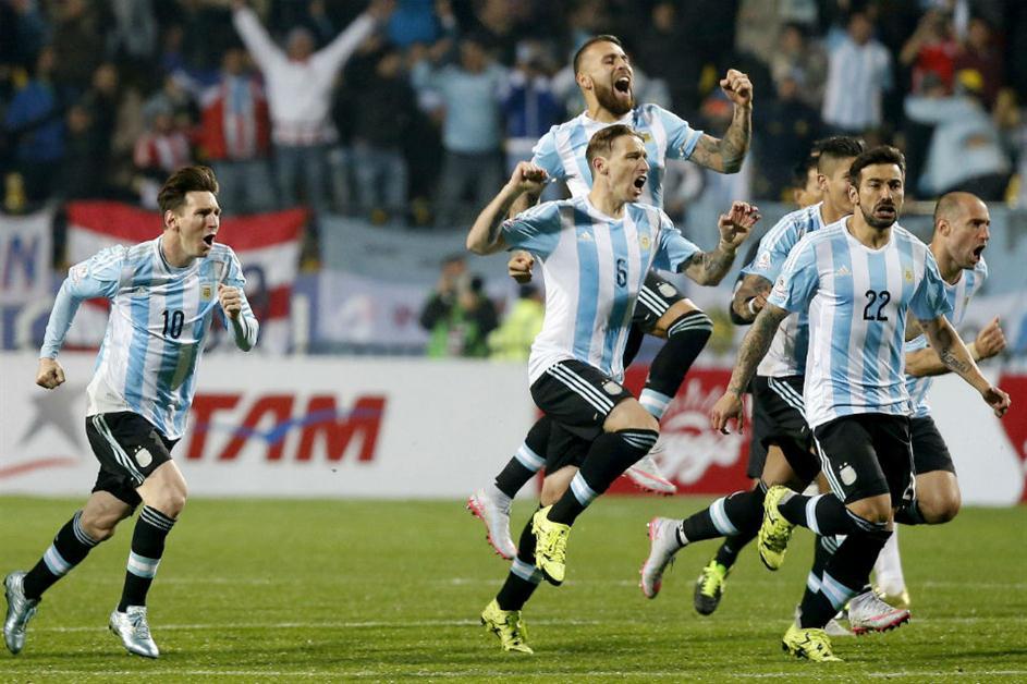 argentina penales copa america colombia