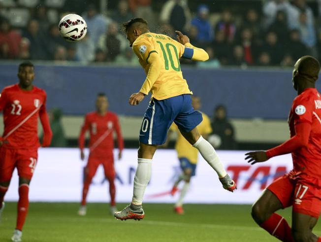 brasil neymar gol copa america