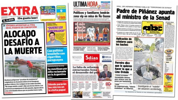 diario paraguayos