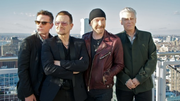 U2 Press Conference With Bono, The Edge, Adam Clayton And Larry Mullen Jr.
