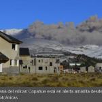 El volván Copahue provocó casi 40 terremotos en media hora