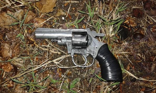 Arma secuestrada