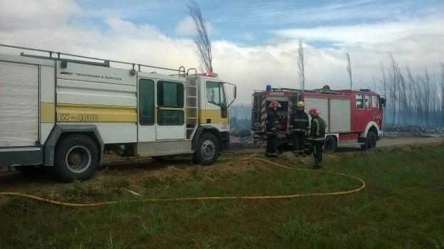 bomberos senillosa apagando chacra 1