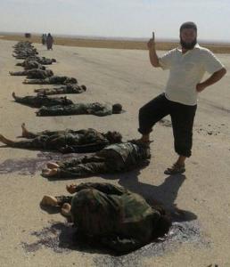soldados sirios muertos