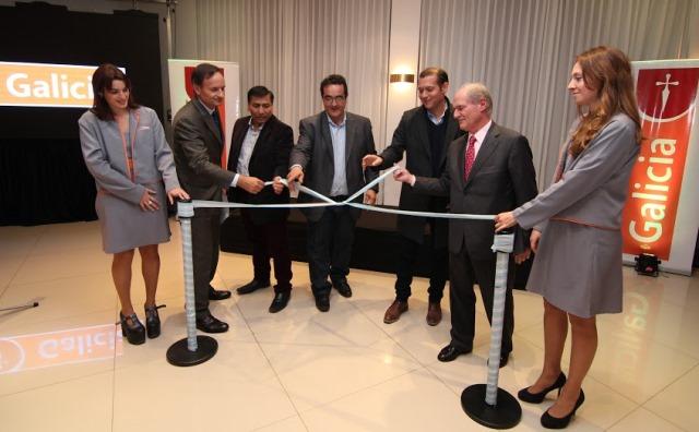 Banco galicia inaugur dos nuevas sucursales en la for Sucursales provincia