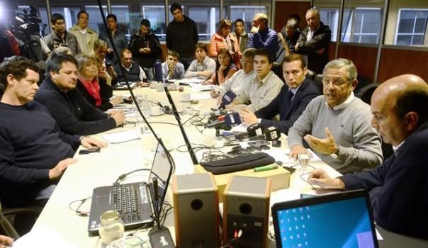 En el Comité de Emergencia se trazó la situación de Neuquén capital.