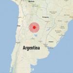 Un sismo de 6.4º sacudió el sudoeste de Jujuy