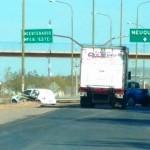 Desalojo, enfrentamiento y tránsito cortado en la Ruta 7