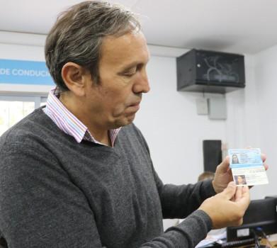 """""""Está orientado a la fiscalización y seguridad. Tiene muchos detalles que colaboran al control"""", dijo Espinosa."""
