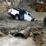 Un hombre es intensamente buscado tras caer al río Curi Leuvú