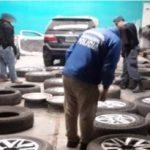 """Les """"pincharon"""" el negocio: secuestraron gran cantidad de ruedas que habrían sido robadas"""