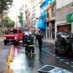 Alarma: Explotó una camioneta a pocas cuadras del Congreso de la Nación