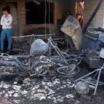 Rescataron a madre y sus hijas de un incendio en el Bajo