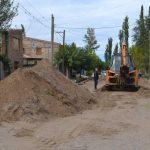 Plottier: Se realizarán las obras para el cordón cuneta en el barrio 2 de abril