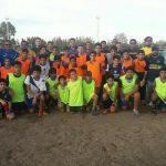 Boca Juniors llegó a Senillosa y hay tres chicos que podrían ser el futuro del club
