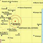 Un fuerte sismo sacudió al norte del país