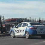 Fatal choque contra un camión sobre la ruta 22