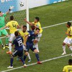 Colombia también sufrió y fue dominado por Japón