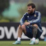 Una noticia para el infarto: ¿Se lesionó Messi?
