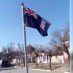 Polémica: En Santa Fe pusieron una bandera británica de las Malvinas