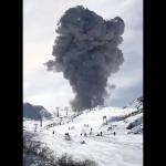 Chile: el volcán Nevados de Chillán registró una nueva erupción que podría afectar al norte neuquino