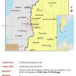 Registraron leve sismo en cercanías a Caviahue y Copahue
