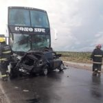 Un concejal murió tras chocar de frente con un ómnibus en la Ruta 22