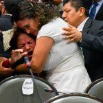 Una diputada se enteró de la muerte de su hija en plena sesión