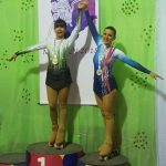 La senillosense Romina Laguna fue coronada como Campeona Nacional en patín artístico