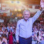 Pechi se lanzó como candidato a gobernador y prometió una mujer en la fórmula