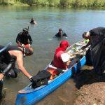 Limpiarán con buzos el río entre los balnearios Sandra Canale y Río Grande