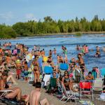 Récord de asistencia en los balnearios: 180 mil personas y 41 rescates en la última semana