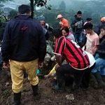 Al menos 17 muertos tras un derrumbe de tierra en Colombia